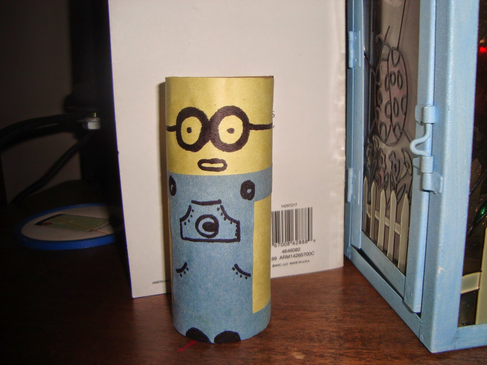 Toilet paper roll minions