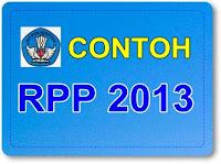 CONTOH RPP KELAS IV SESUAI KURIKULUM 2013