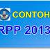Download Contoh  RPP Kurikulum 2013 SD, SMP, SMA Lengkap