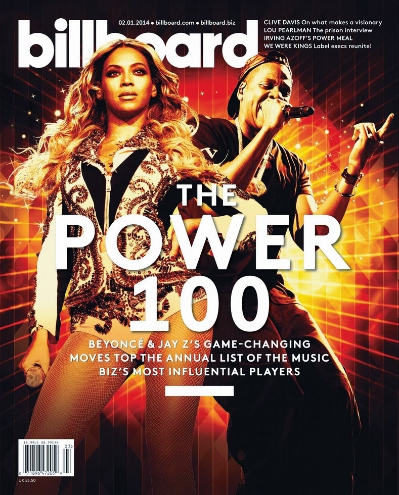 Beyonce Billboard  Magazine Cover January 2014 HQ Scans