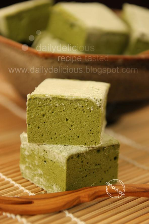 Guimauve à Matcha or Green tea marshmallow: Bitter taste that you ...