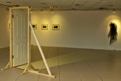 Let A Way Be Opened To My Soul, Door, Frame, Projection, installation view, 2011