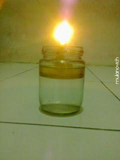 Cara Membuat Lampu Minyak