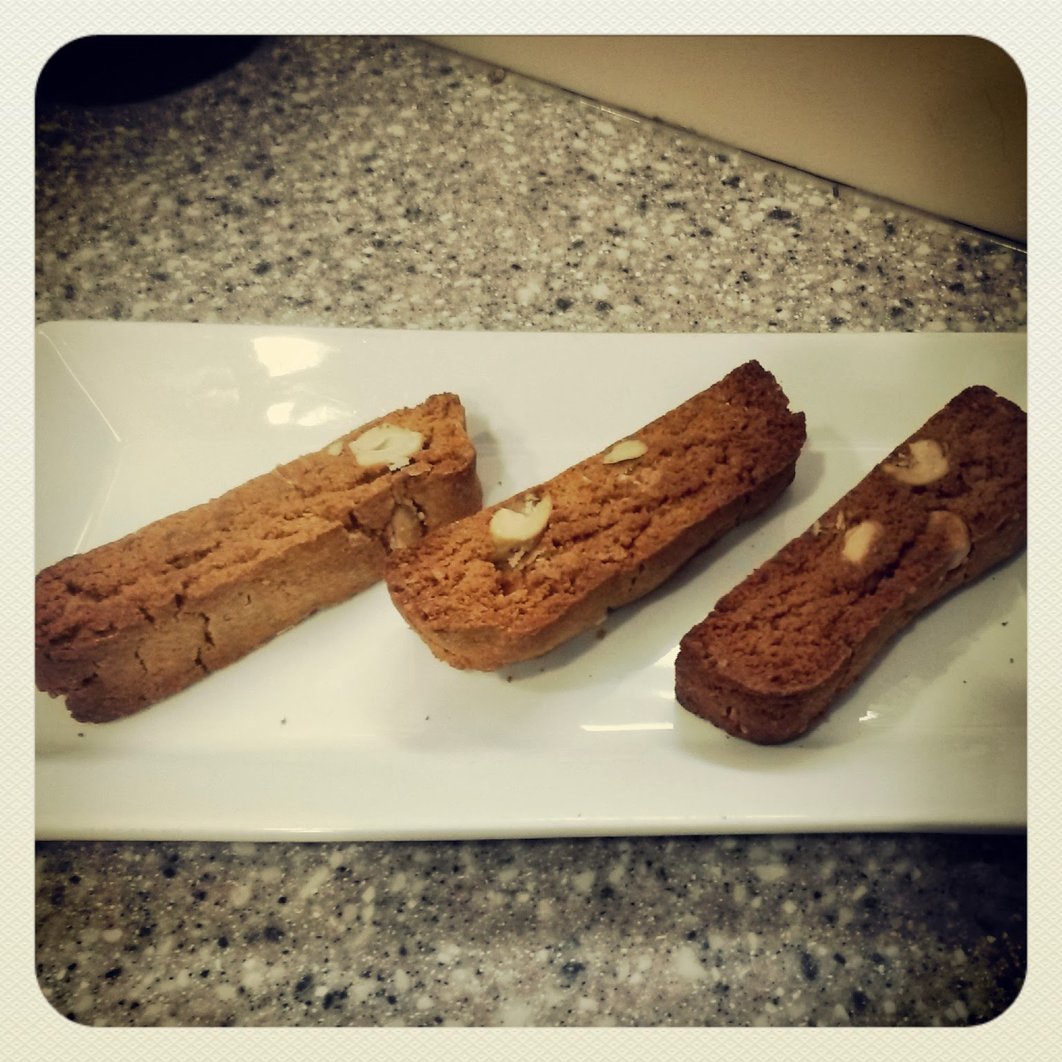 have been making coconut cashew biscotti...a lot of biscotti. I've ...
