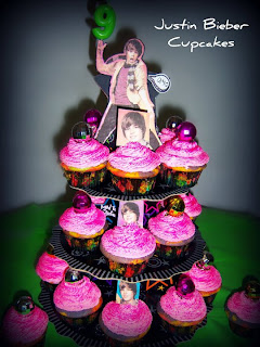 Justin Bieber Cakes And Cupcakes