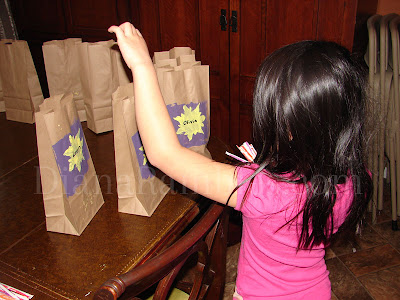 tangled birthday gift bags