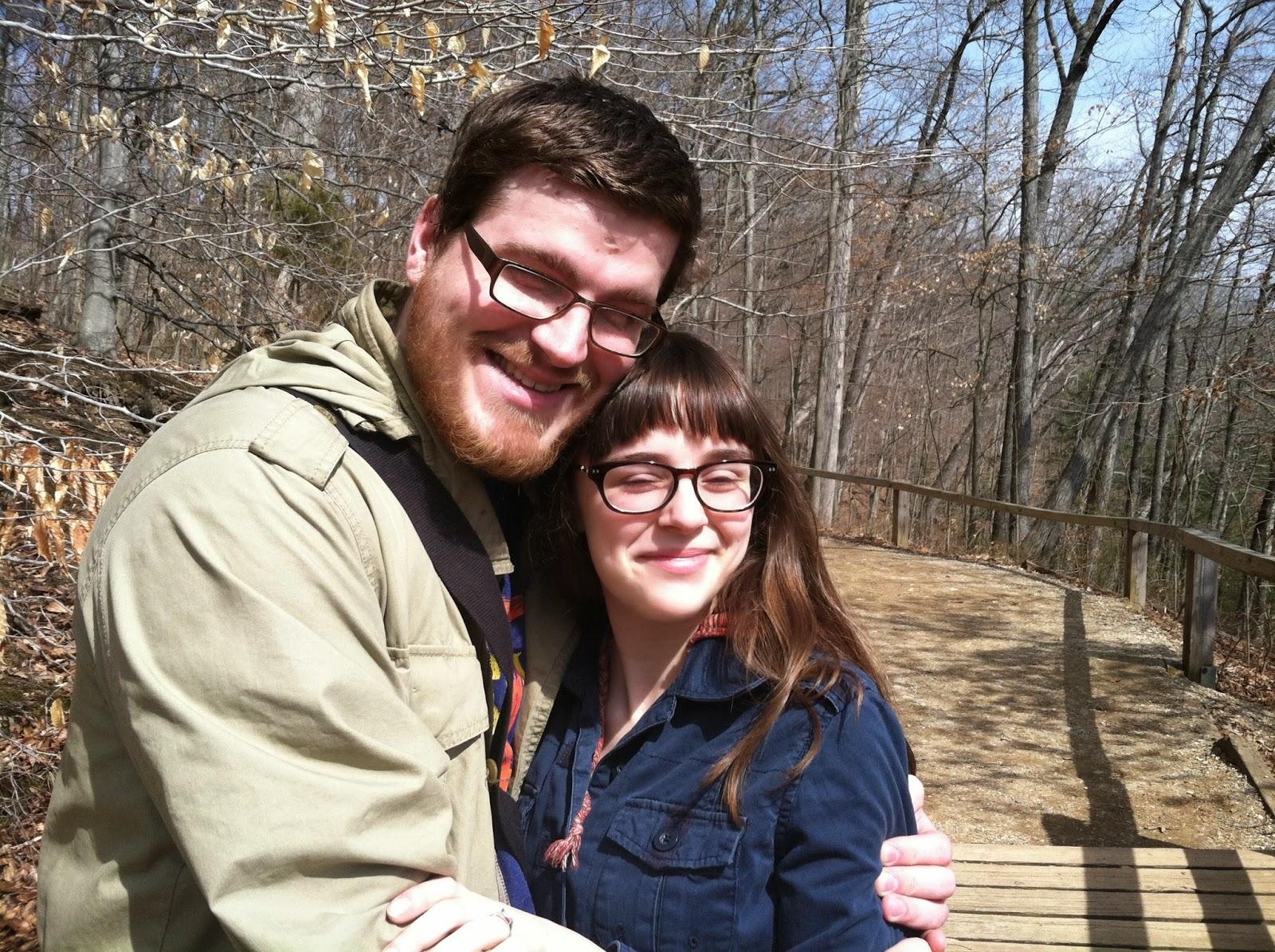 love, couple, nature, turkey run, engagement