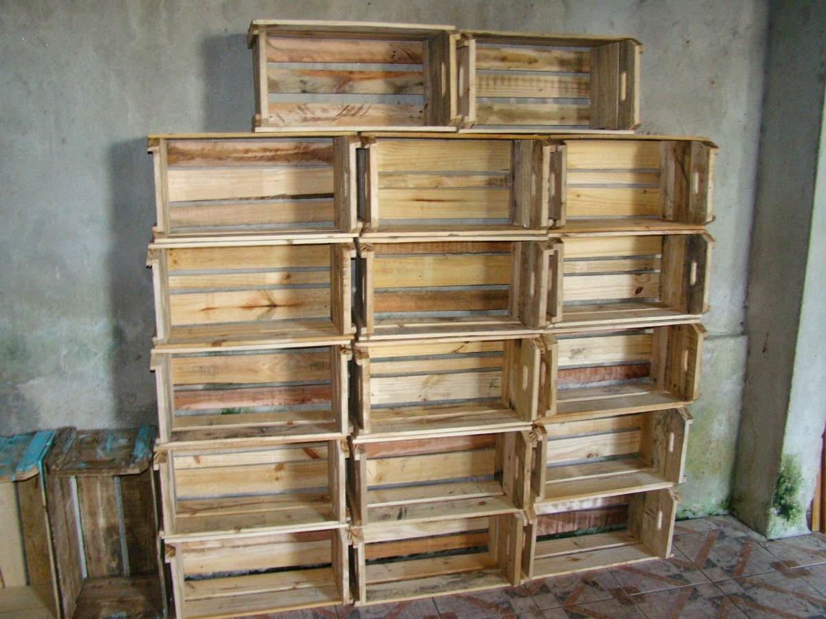 caixote de feira novo original de paletes 13933 MLB3122369462 092012 F  #8A6F41 1200x900