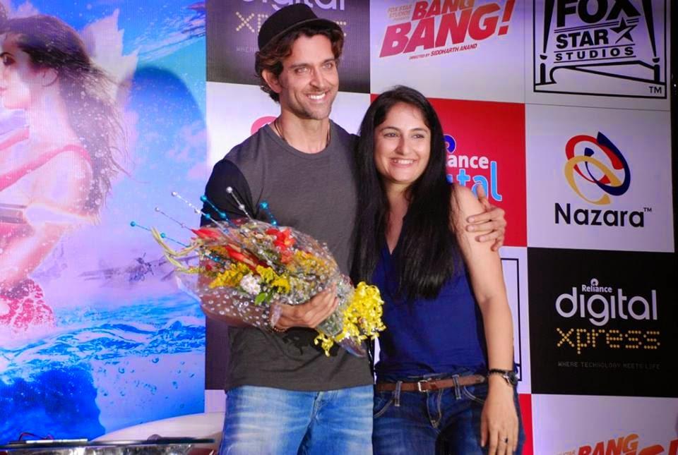 Hrithik Roshan launches 'Bang Bang!' mobile game