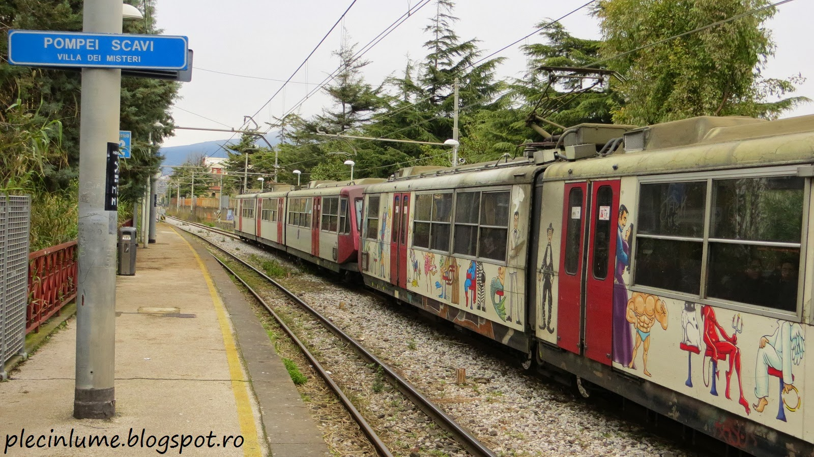 Gara din Pompei