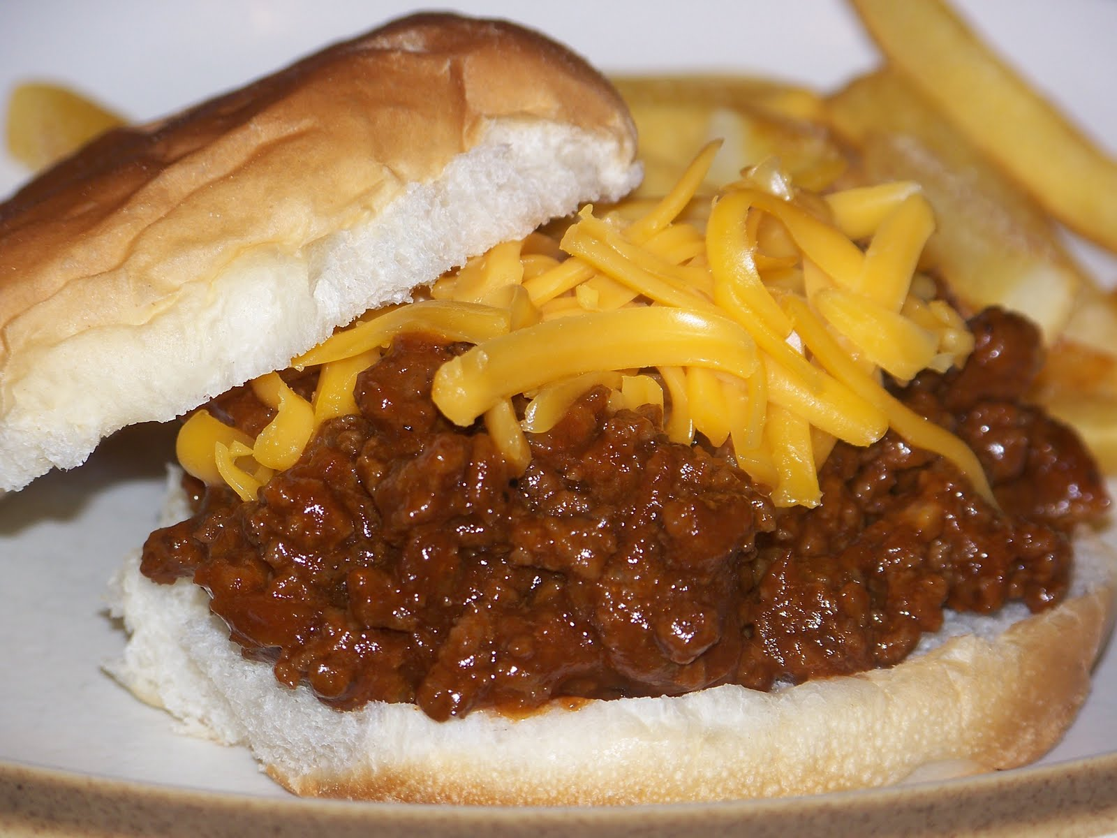 Stefanies Cooking Spot: Barbecued Sloppy Joes