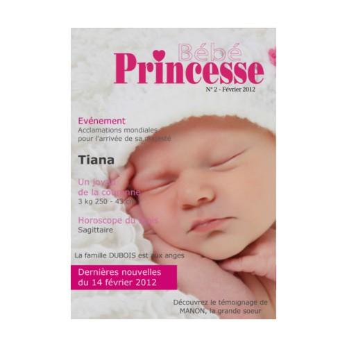 Bien-aimé A la UNE : Des faire-part naissance originaux !   Magazine  NO78