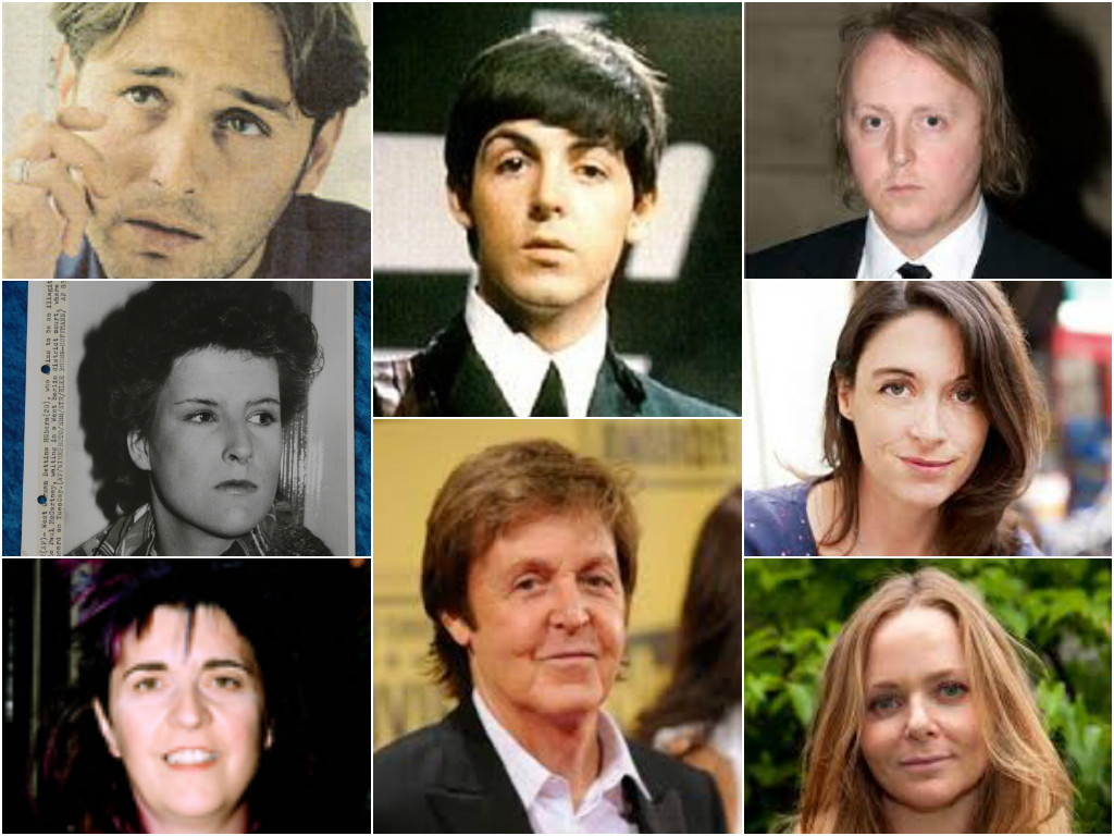 Just For Fun Im Adding In A Picture Of Pauls Reputed Illegitimate Children To The Family Photo Thanks Dr Tomoculous Added Research