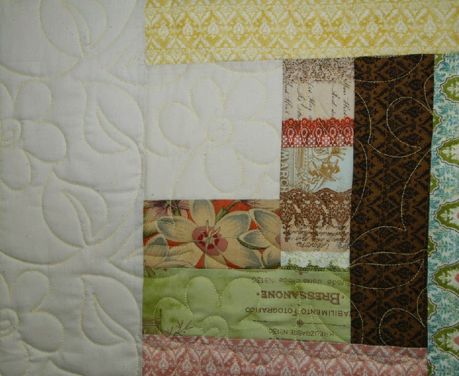 Jill Seward's Multi-color Scrappy Quilt