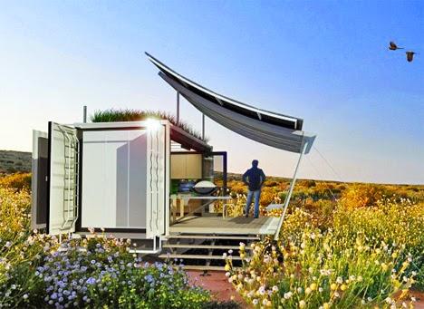 Desain Rumah Model Kontainer Modern Sekarang Ini - Rumah Idaman