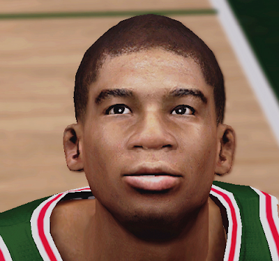 NBA 2K14 Giannis Antetokounmpo Cyberface Patch