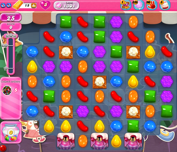 Candy Crush Saga 1301