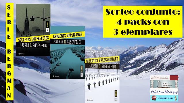 Sorteo conjunto de 4 packs de la serie Bergman