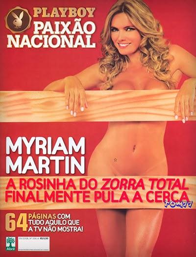 Myriam Martin pelada