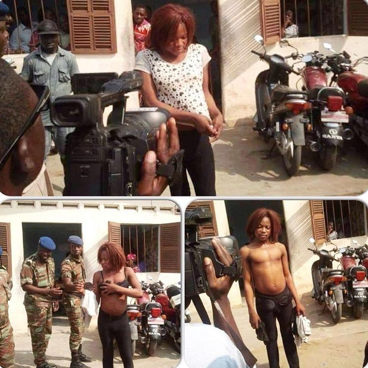OMG! Boy Swindling Men By Parading As Girl Nabbed By Army (Photos)