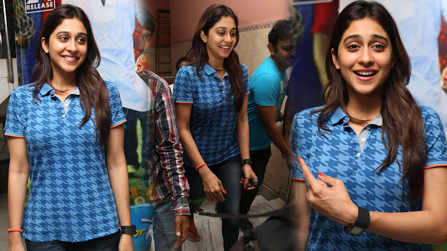Regina Cassandra Latest Photos At Subramanyam For Sale Theatre Coverage