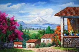 Paisajes Casas Antiguas