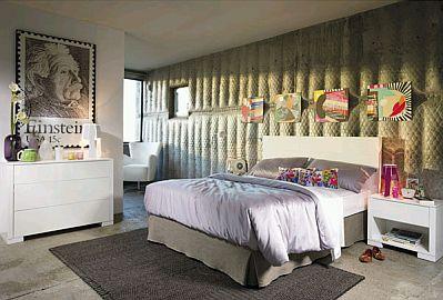 Muebles de dormitorio para adultos coleccion berry urban chic - Muebles urban chic ...