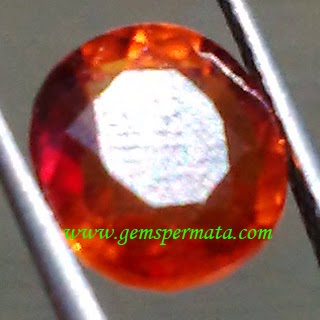 Batu Permata Hessonite Garnet Grossular