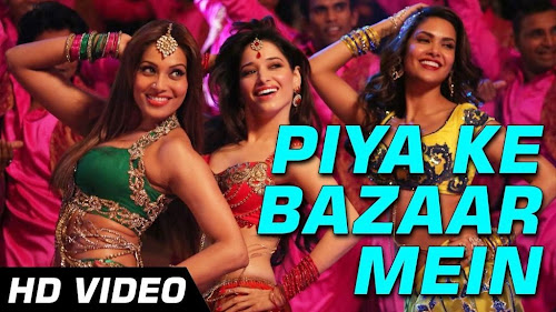 Piya Ke Bazaar Mein - Humshakals (2014) Full Music Video Song Free Download And Watch Online at worldfree4u.com