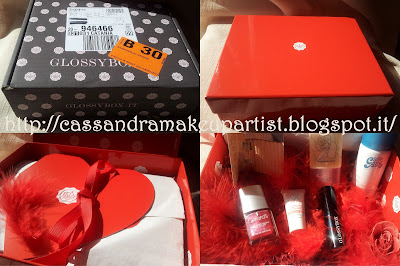 "Glossy Box Gennaio 2013 - ""San Valentino"" - review - recensione - swatch - opinione"