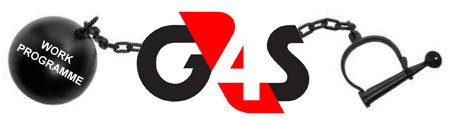G4S WORK PROGRAMME PROTEST