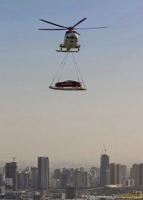 فقط في دبي أغرب ما يمكن أن تشاهده