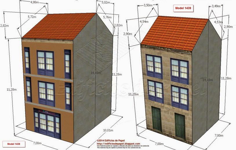 Modelos 1438 y 1439 Edificio Rehabilitado 2