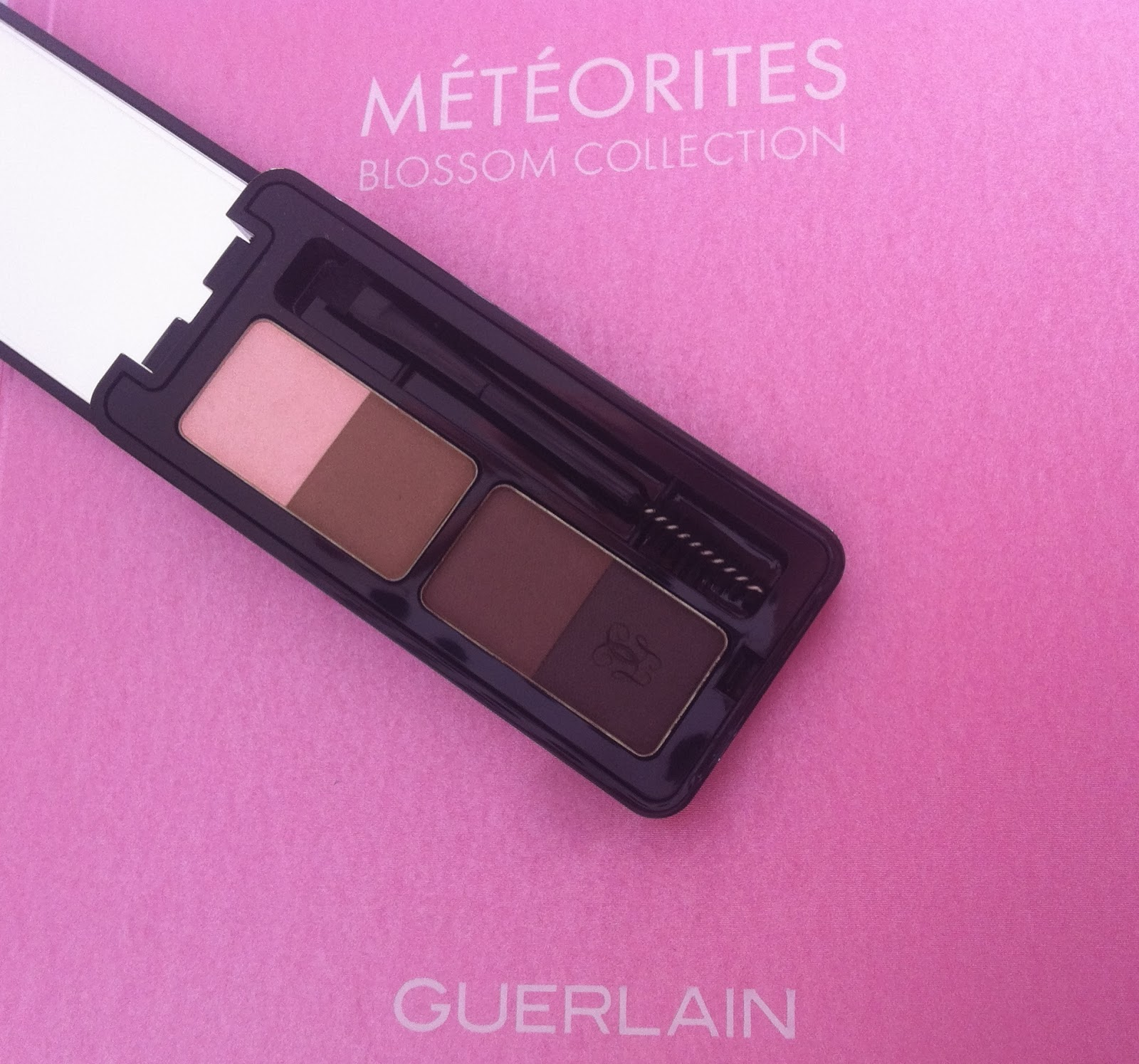 Guerlain make up spring 2014 Météorites Blossom Collection, L'Ecrin sourcils universel