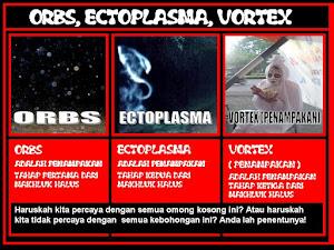 Orbs, Ectoplasma dan Vortex