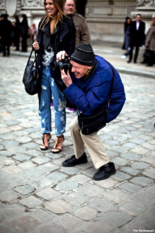 My Fashion Tricks Bill Cunningham Street Fashion