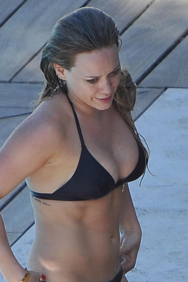Hilary Duff Bikini on Exhaust Gas Recirculation Egr