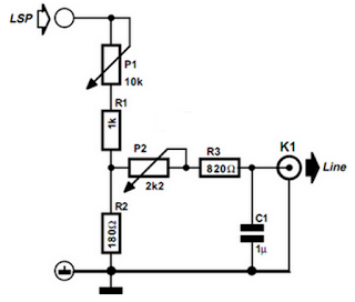 Subwoofer Circuit diagram