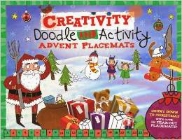 Doodle and Activity Advent Placemats: With 36 Tear-Out Doodle Placemats!