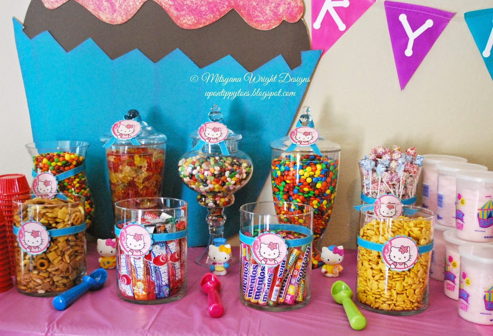 Up On Tippy Toes Hello Kitty Themed Birthday Party