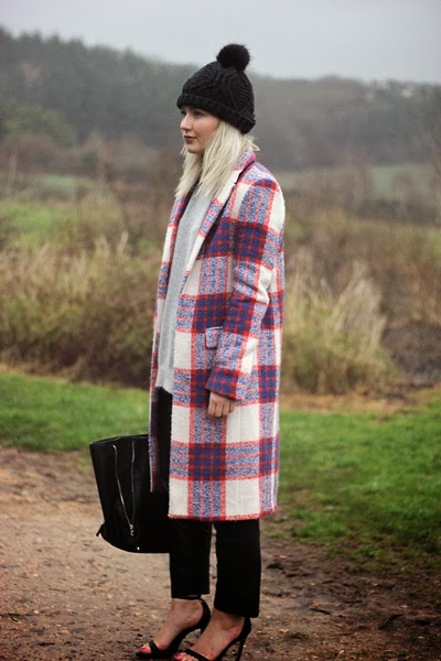 Zara 2013 AW Plaid Coat