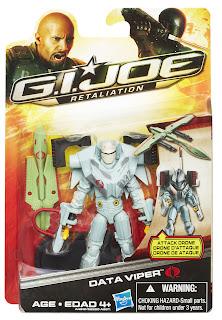 Hasbro GI Joe Retaliation Data Viper Figure