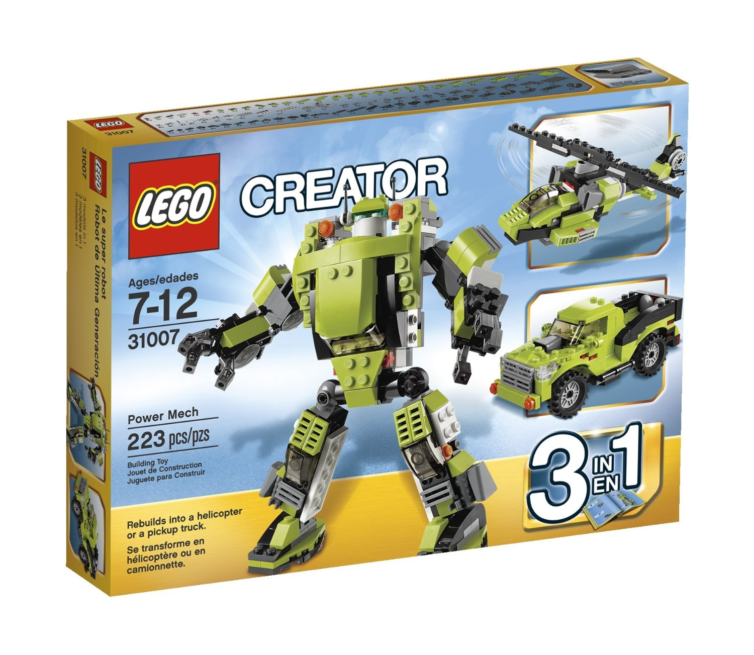 green toys helicopter with Lego Creator Power Mech 31007 on Lego Batman 2014 Man Bat Attack 76011 Winter Set Photos Preview likewise The Incredible Hulk Poster Analysis as well Lego Ninjago 2015 Sets Official Images Part 2 besides Watch together with 350976883631.