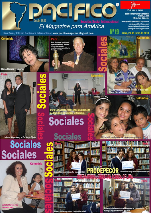 Revista Pacífico Nº 19 Social Internacional
