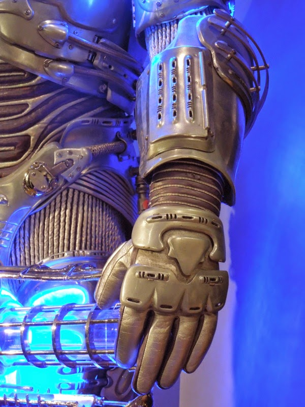 Mr Freeze glove costume detail Batman Robin
