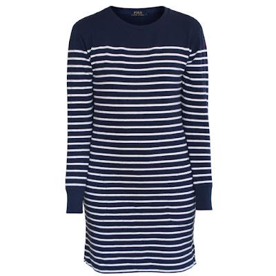 polo ralph lauren sailor stripe dress
