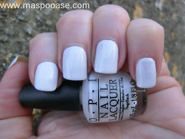 OPI Alpine Snow review