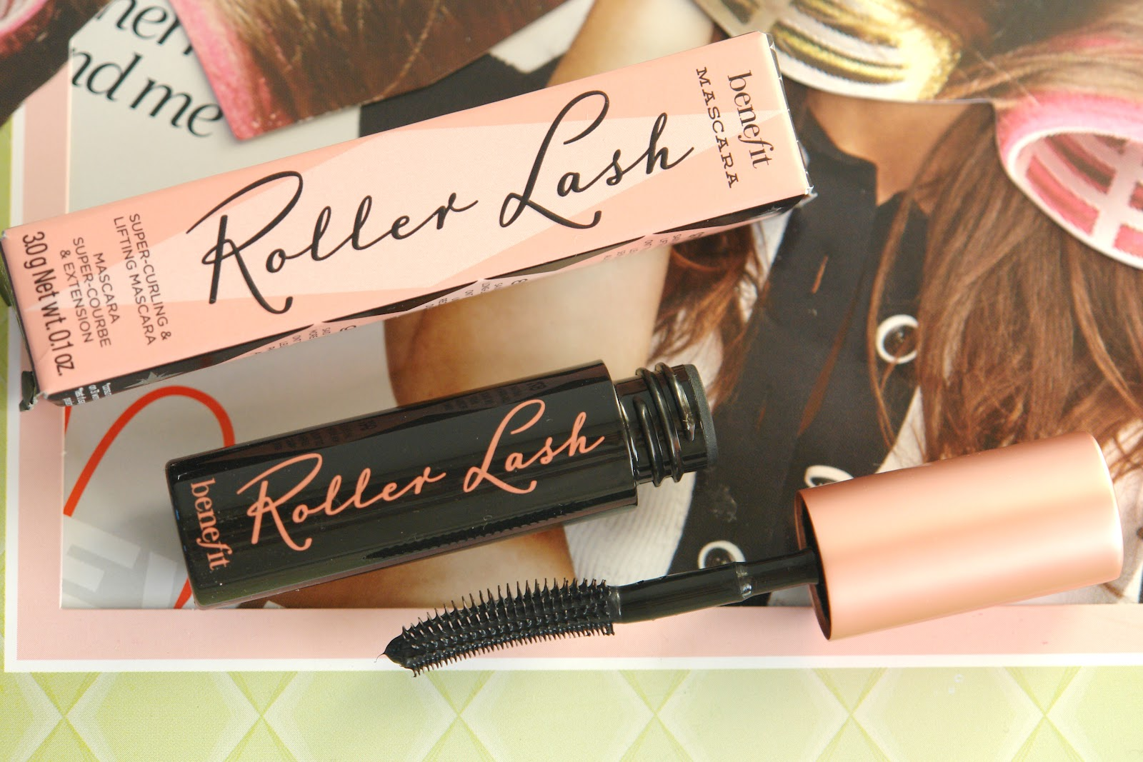 Benefit Roller Lash mascara, Benefit, mascara, make up, beauty, review, ELLE, swatches