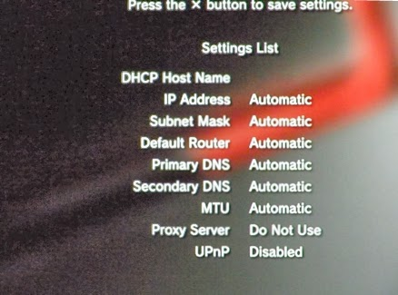 Konsola PS3 - ustawienia połączenia Wi-Fi podsumowanie DHCP