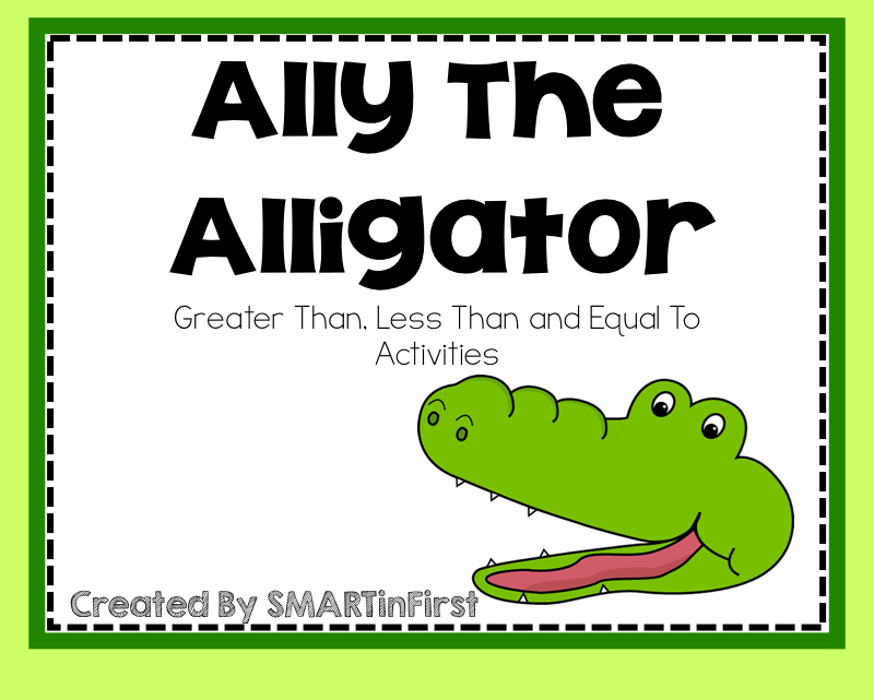 http://www.teacherspayteachers.com/Product/Ally-the-Alligator-Activities-1093333